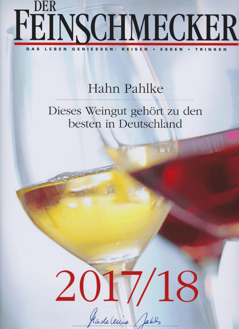 Feinschmecker- 2018-Weinguide